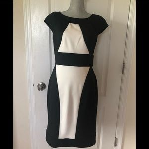 Black & White Maggy London Dress